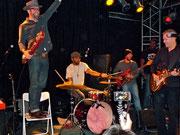 Soul-Blues-Party in Köln mit JJ Grey (rechts) und Mofro (Foto: Nilles)
