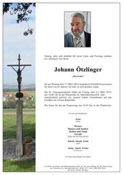 Parte Ötzlinger Johann