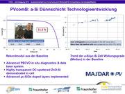 Rutger Schlatmann: PVcomB: a-Si Dünnschicht Technologieentwicklung, Oktober 2012