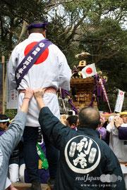 建国祭神輿パレード:2011年2月11日