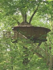 cabane dans les arbres - séjour insolite - chateau des tilleuls - port le grand - abbeville - baie de somme
