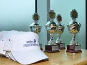 Pokale des Aarau Open 2013