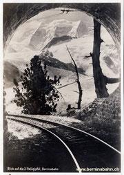 420-103 Eigenverlag Berninabahn, Karte Nr. 13, ungelaufen
