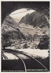 420-102 Eigenverlag Berninabahn, Karte Nr. 21, ungelaufen
