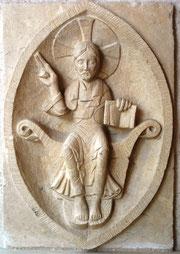 Christ en majesté dans une mandorle