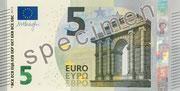 Die neue 5-Euro-Banknote. Foto zVg