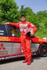 Sieger des Rennens, Alfred Fries. Foto: Werner Schneider