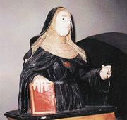 Busto di una suora rinvenuto nel Convento di San Nicola de Miri