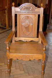 1915's Eisteddfod Chair / courtesy of Photolibrary Wales
