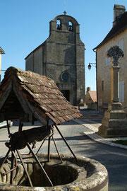 La place du village de Fanlac