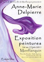 exposition personnelle à Monflanquin