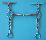 Nr. 23 Wassertrense Kaltblut Edelstahl 16, 18 und 20 mm Stärke von Alois Achatz Pferdeartikel / Horse Products horse bits