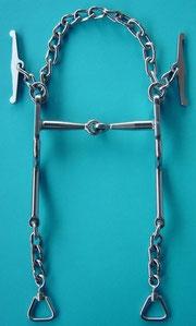 Nr. 11 Pferdegebiss Kaltblut Edelstahl von Alois Achatz Pferdeartikel / Horse Products horse bits