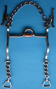 Nr. 7 Pferdegebiss Kaltblut mit Kupfereinsatz von Alois Achatz Pferdeartikel / Horse Products horse bits