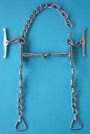 Nr. 9 Pferdegebiss gebrochen Kaltblut Edelstahl von Alois Achatz Pferdeartikel / Horse Products horse bits