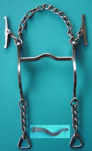 Nr. 5 Pferdegebiss kleine Zungenfreiheit Kaltblut Edelstahl von Alois Achatz Pferdeartikel / Horse Products horse bits