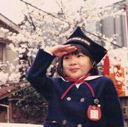 子どもの頃の私。