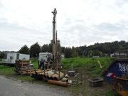 Bau einer Grundwasser-Messstelle