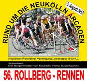 Rollbergrennen 2012, Radrennen in Berlin Neukölln