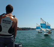 Stage Optimist Cap sailing