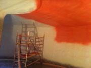 Fermenter Innen mit Isolierung dämmen
