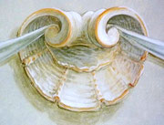 Shell-ornament by Joanne Marie Wolfe