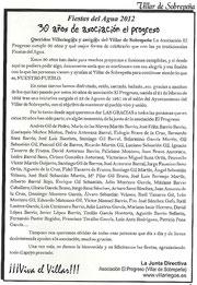 Presentación 2012 (30 Años Asociación)