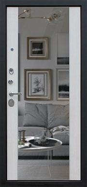 входная дверь слалом-к белёный дуб
