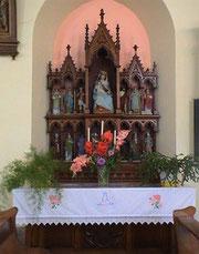 Autel église de Manspach