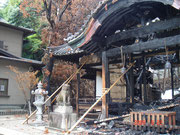 焼失した社殿