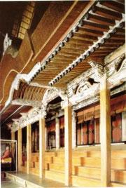 焼失前の吉志部神社本殿