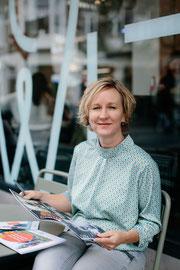 Portretfoto van Matthja, grafisch vormgever