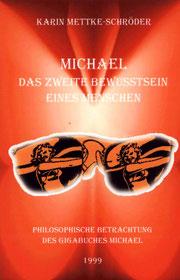 Karin Mettke-Schröder/Das zweite Bewusstsein/Broschürefassung von 2003/Coverentwurf