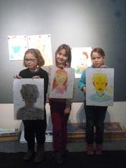 Atelier au musée autour de l'exposition Anna Quinquaud.
