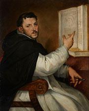 Bartolomeo Passerotti, Portrait d'Egnazio Danti, huile sur bois, musée des beaux-arts de Brest.