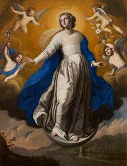 Francesco de Rosa (attribué à), L'Immaculée conception, huile sur toile, musée des beaux-arts de Brest.
