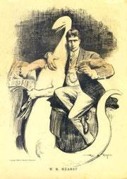Retrato de William Randolph Hearst