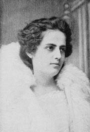 Portrait d'Evangelina Cosío Cisneros