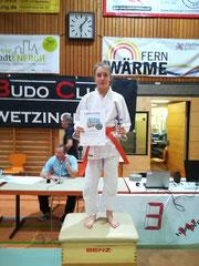 1. Platz für Celine in Schwetzingen