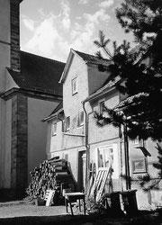 Haus Speier - vom heutigen Besitzer als Holzstall genutzt
