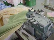 インターロックミシンで様々な縫製仕様を