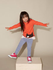 Emilia Taguchi has Down syndrome and will also appear in a children's catalog for Nordstrom in August. (Nordstrom)