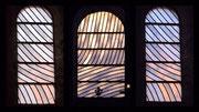 Abbatiale de Conques, vitraux de Pierre Soulages / DR