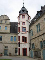 Schloss Stadthagen, Innenhof mit Treppenturm