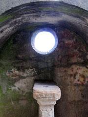 Externsteine, Altarnische der Höhenkammer