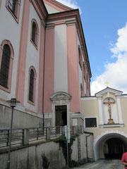 Kirche St. Paul und Paulusbogen, Passau