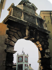 Balbi-Bogen und Uhrturm, Rovinj