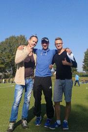 TuS Bam1: Trainerteam. - Foto: p.a.