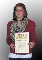 Gaumeisterin 2011 Schüler weiblich Christine Schiller