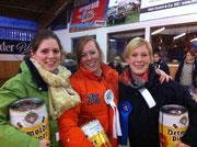 Team Bielefeld: Nele, Frieda und Verena OberStelter
